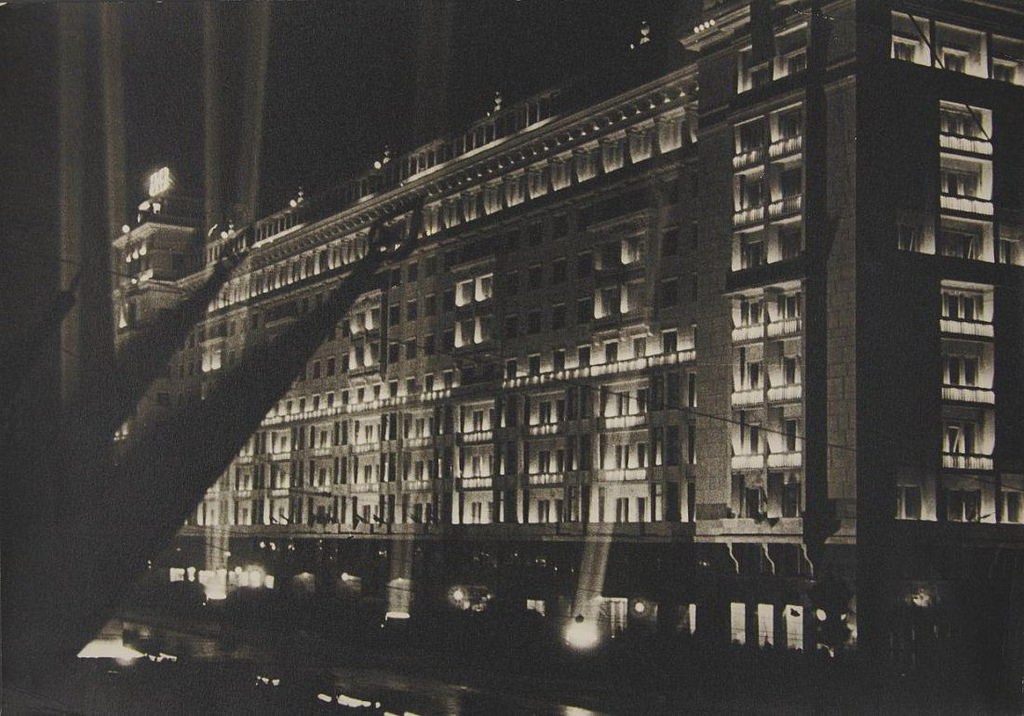 1945. Hotel 'Moskva', May