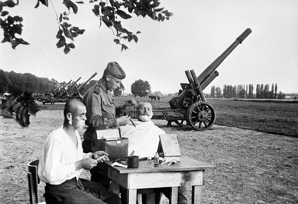 1945. В предместье Вены