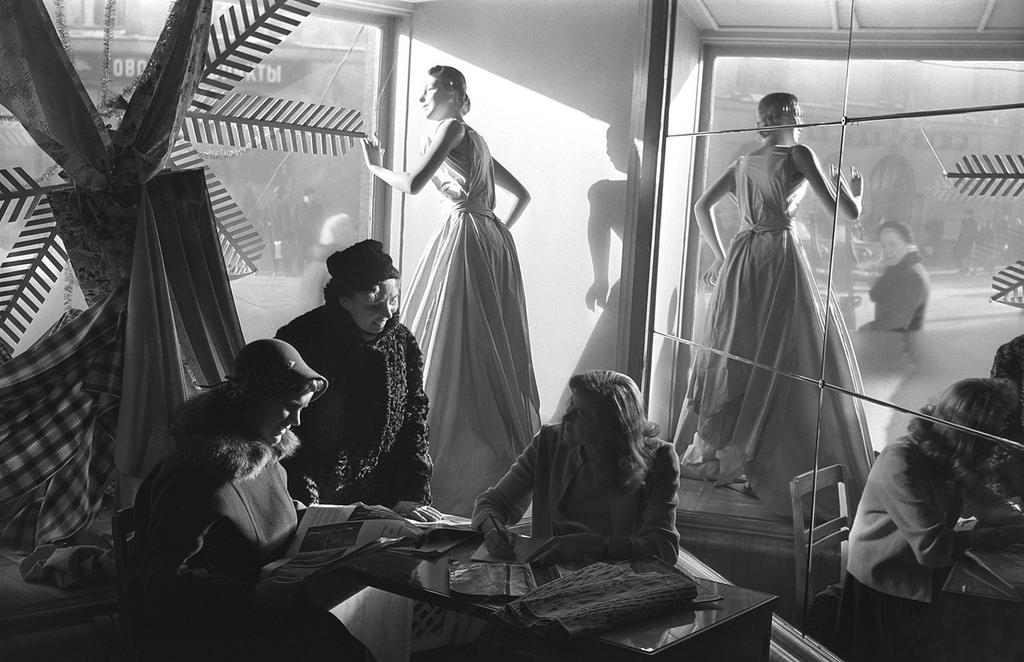 1950-е. В рижском Доме Моды