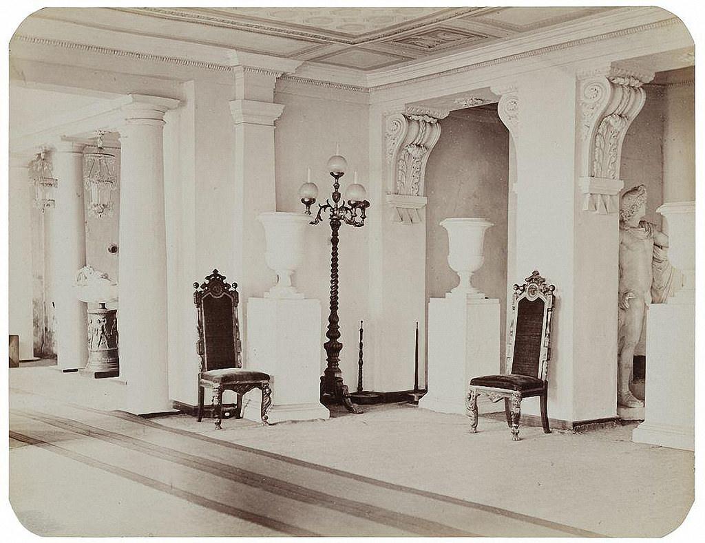 Останкинский дворец. Вестибюль. 1868-1870