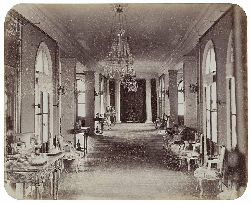 Останкинский дворец. Восточная галерея. 1868-1870