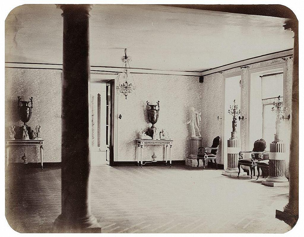 Останкинский дворец. Гравюрная галерея (гостиная императрицы). 1868-1870