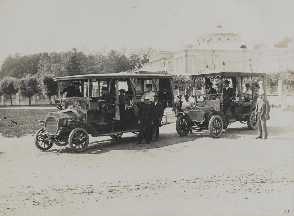 Останкино. Автомобильная станция. 1913