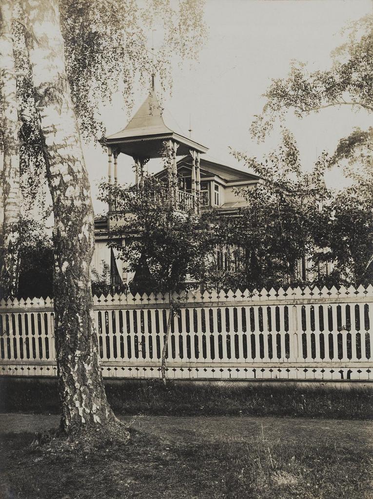 Останкино. Дача Лаврова. 1913