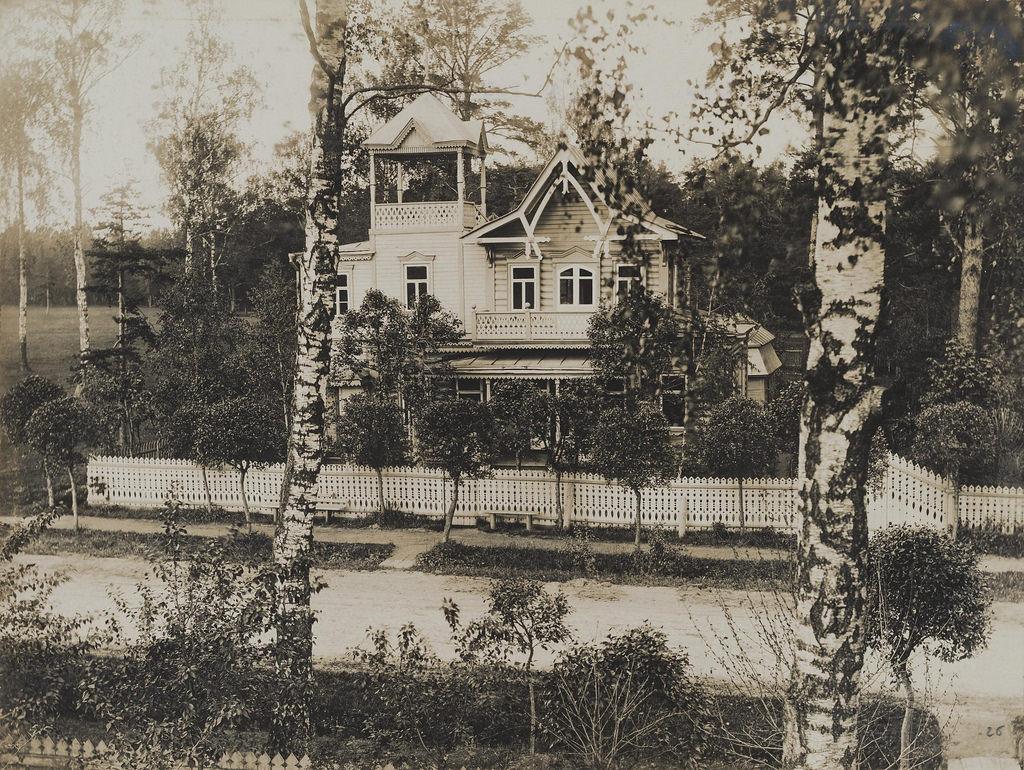 Останкино. Дача Рыкалова. 1913