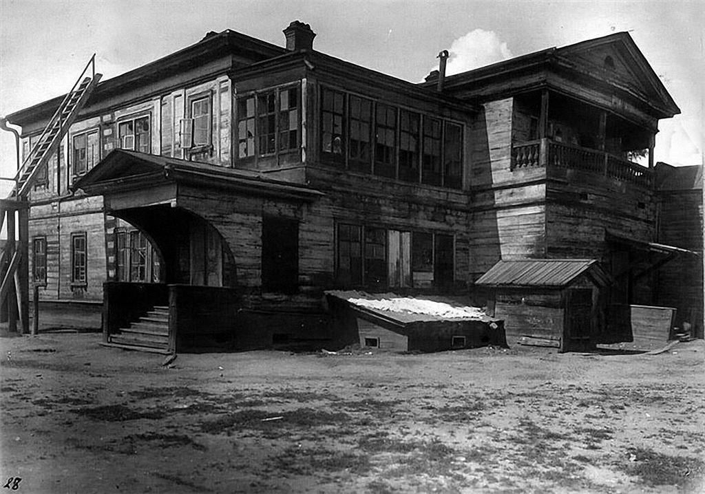Дом князя С.Г. Волконского