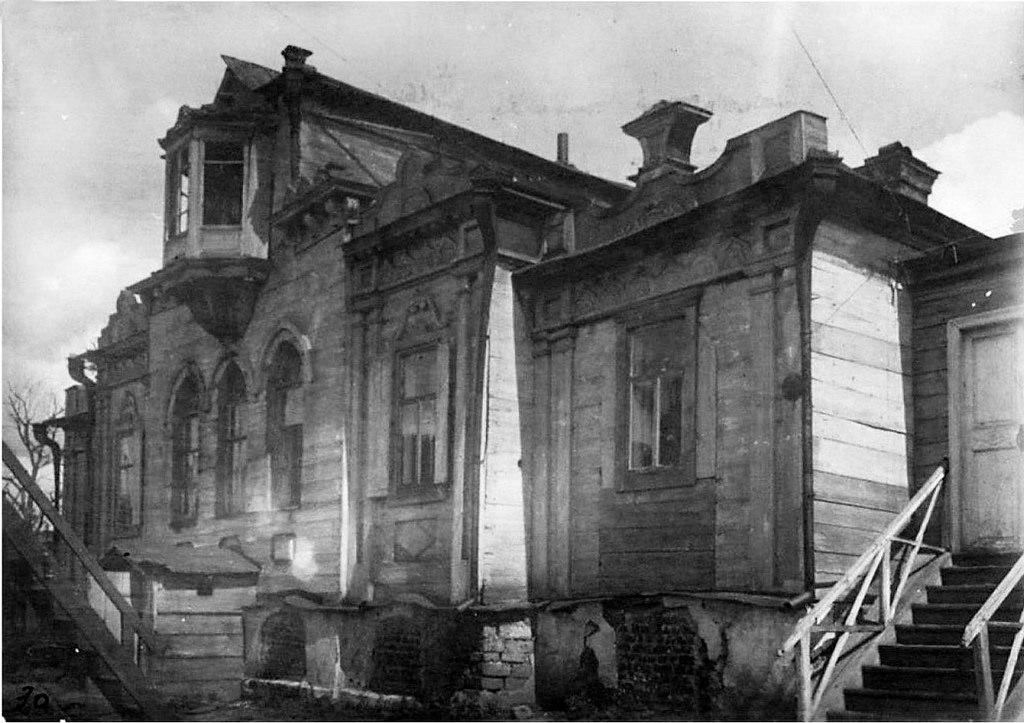 Дом Трубецких на улице Арсенальской