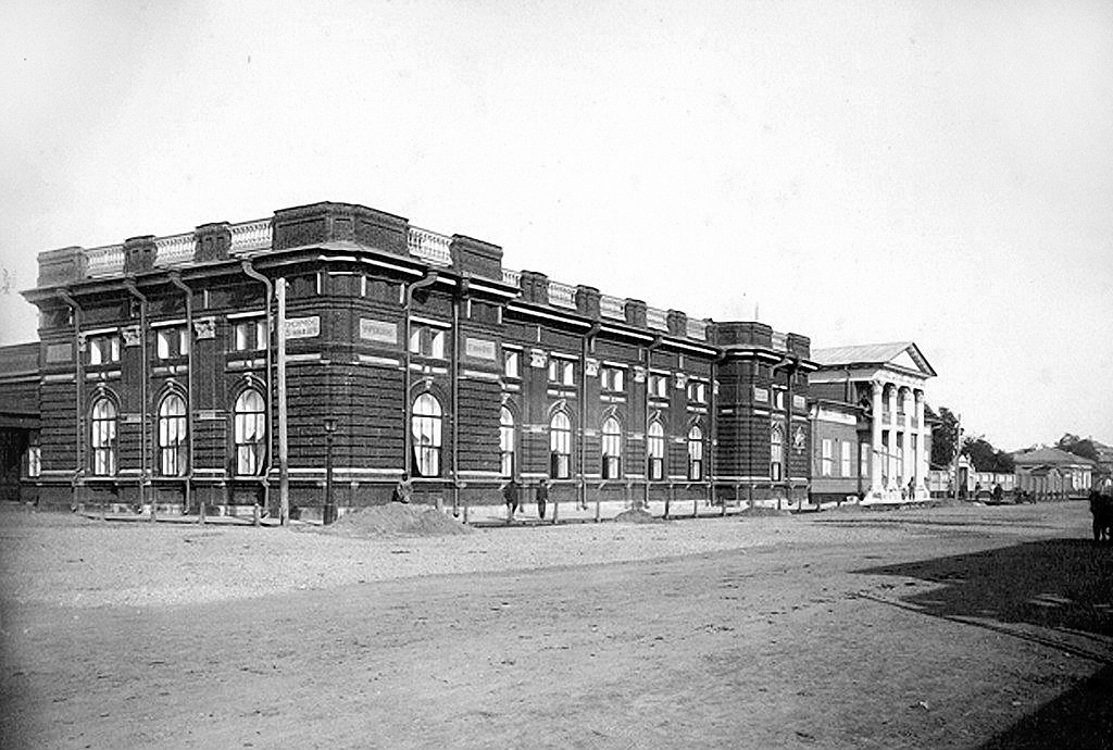 Здание Первого Общественного собрания (первая очередь)