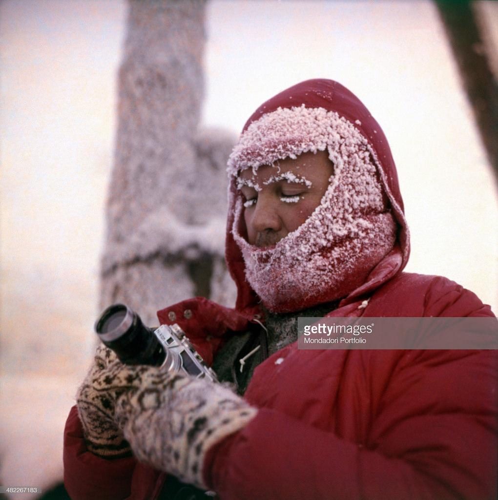 Сибирь. Итальянский фотограф Марио Де Бьязи с камерой