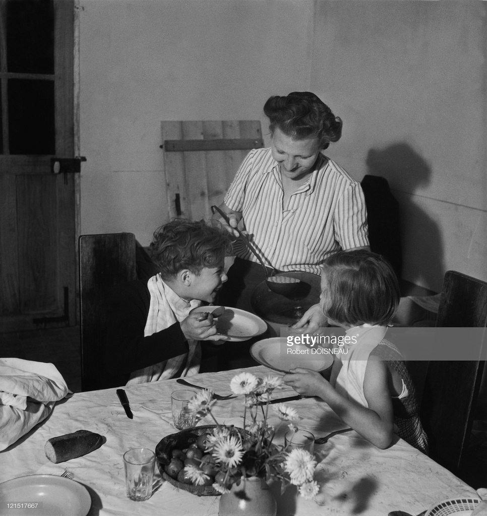 1945. Семейная жизнь