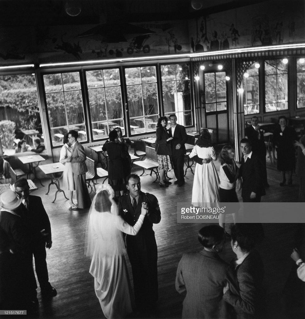 1947. Свадьба в Жуанвиль-ле-Пон