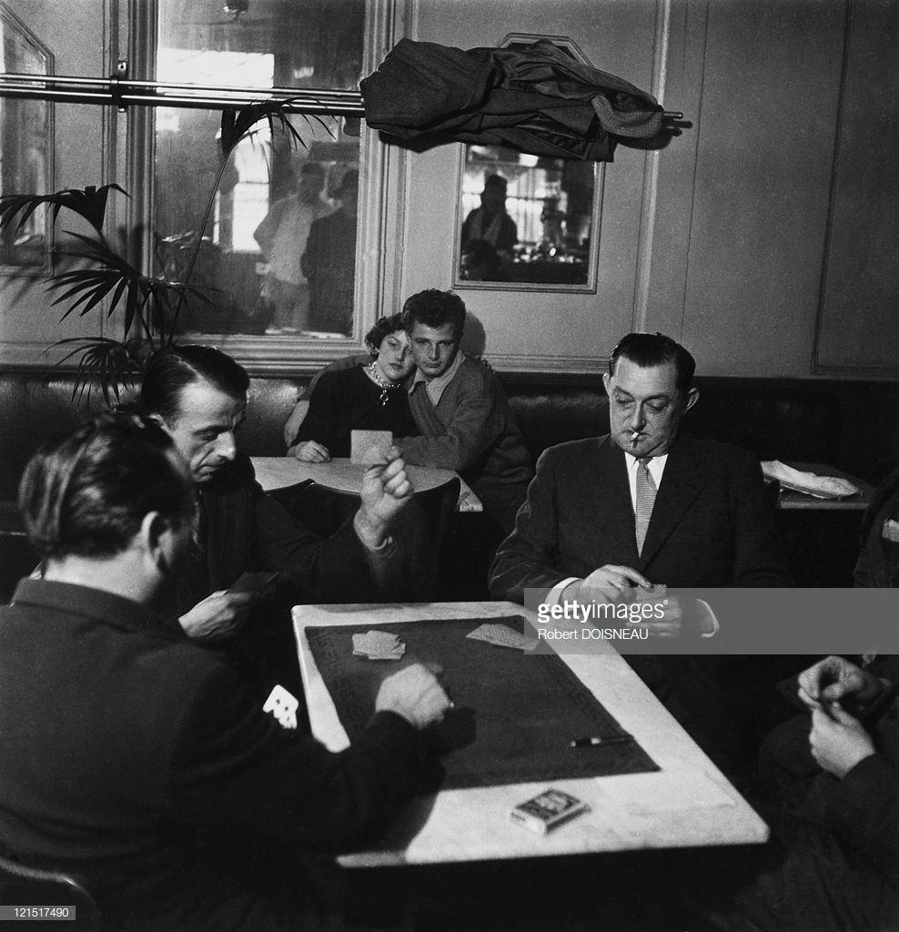1950. Картёжники