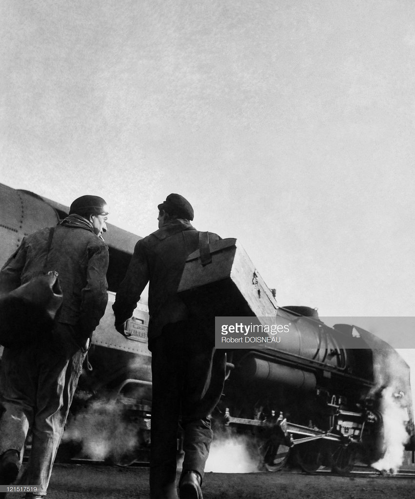 1950-е. Железнодорожные рабочие