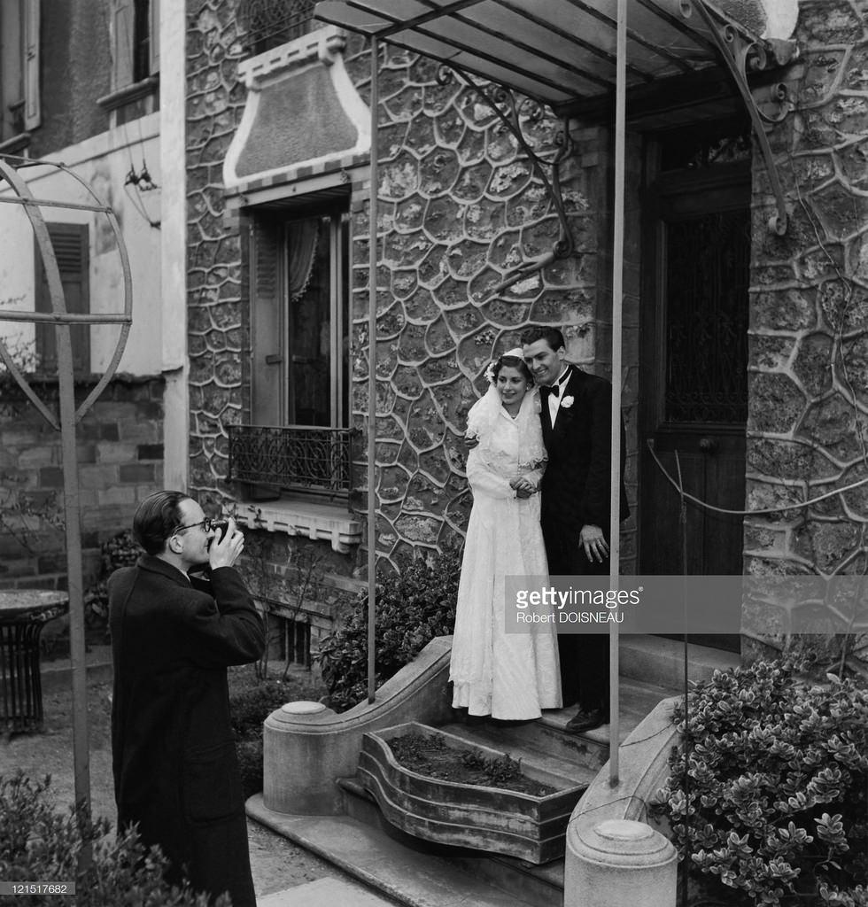 1950-е. Молодожёны