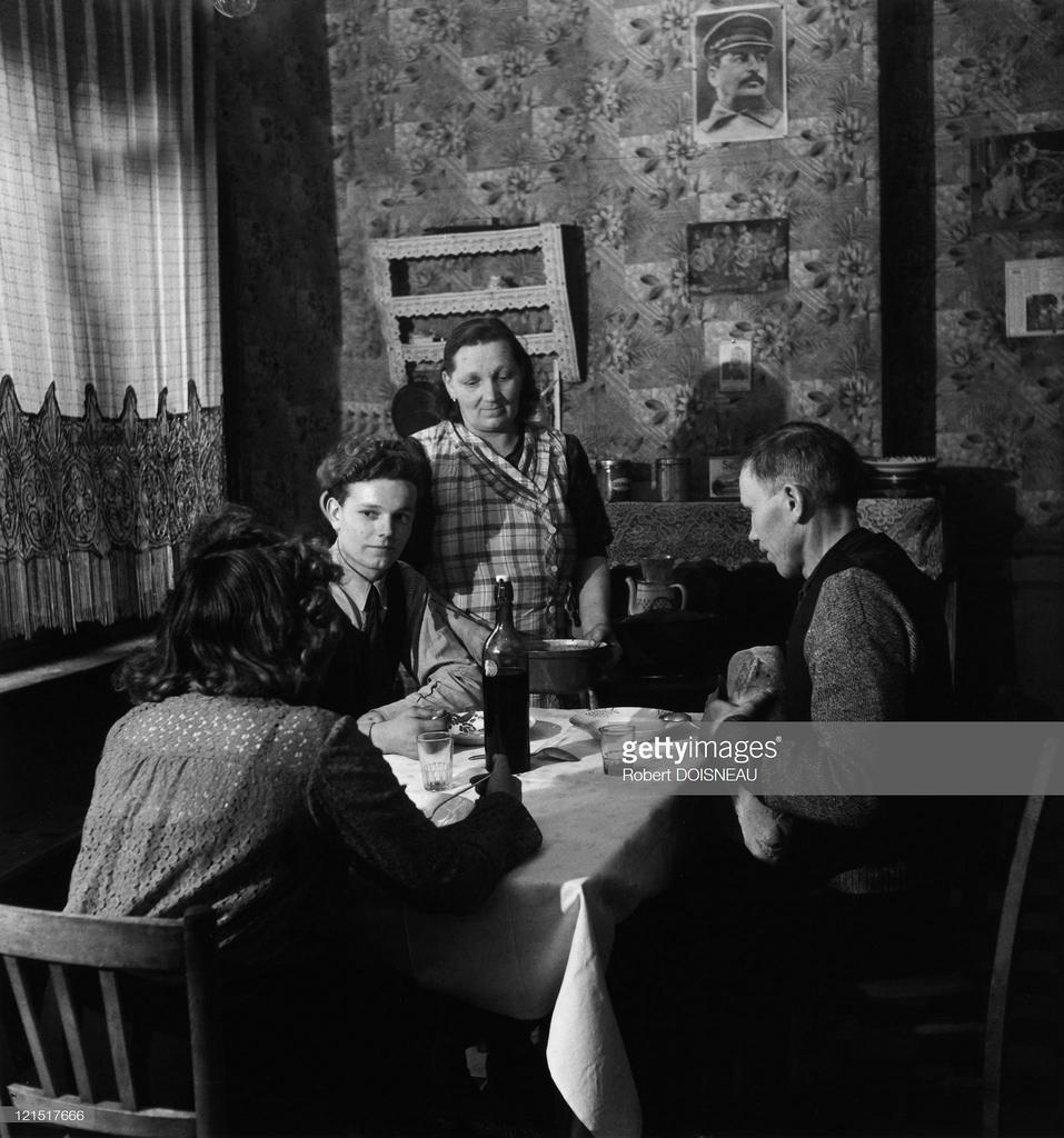 1950-е. Семейная жизнь