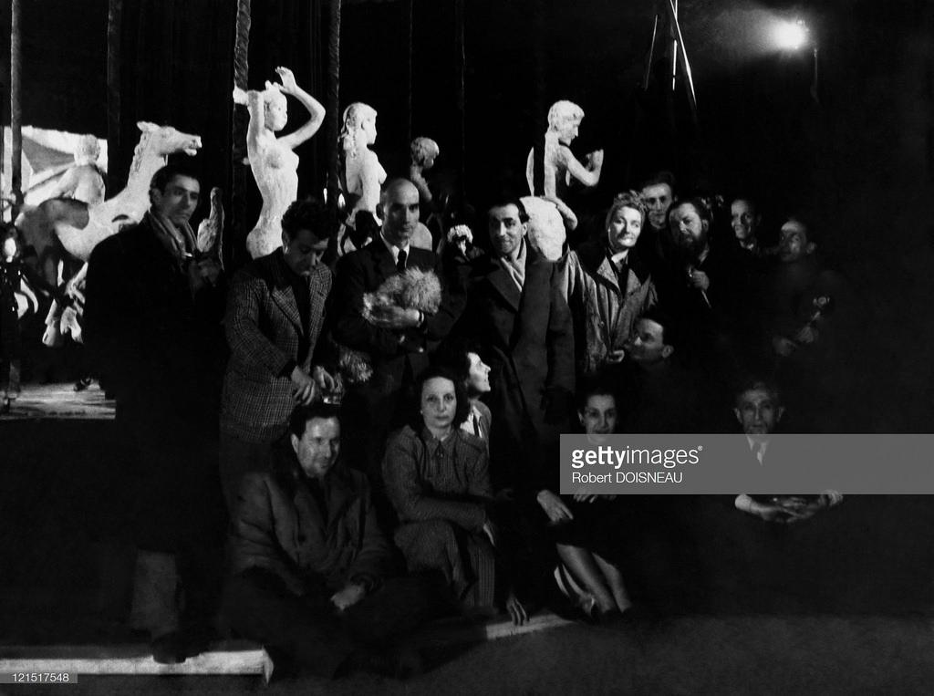1950-е. Труппа малого театра моды