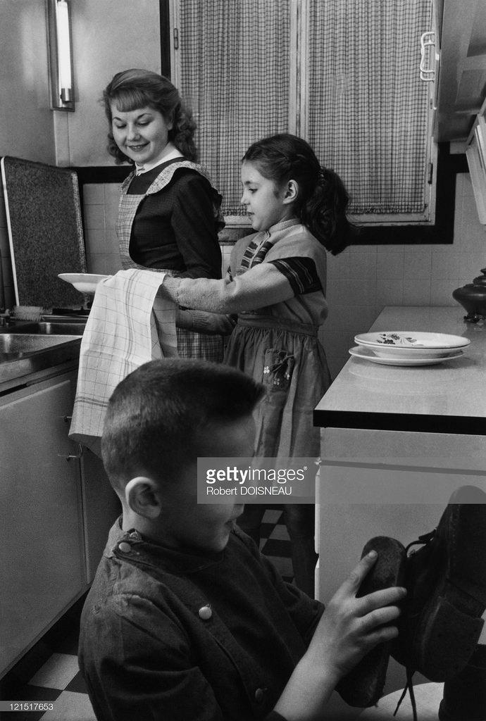 1955. Семейная жизнь