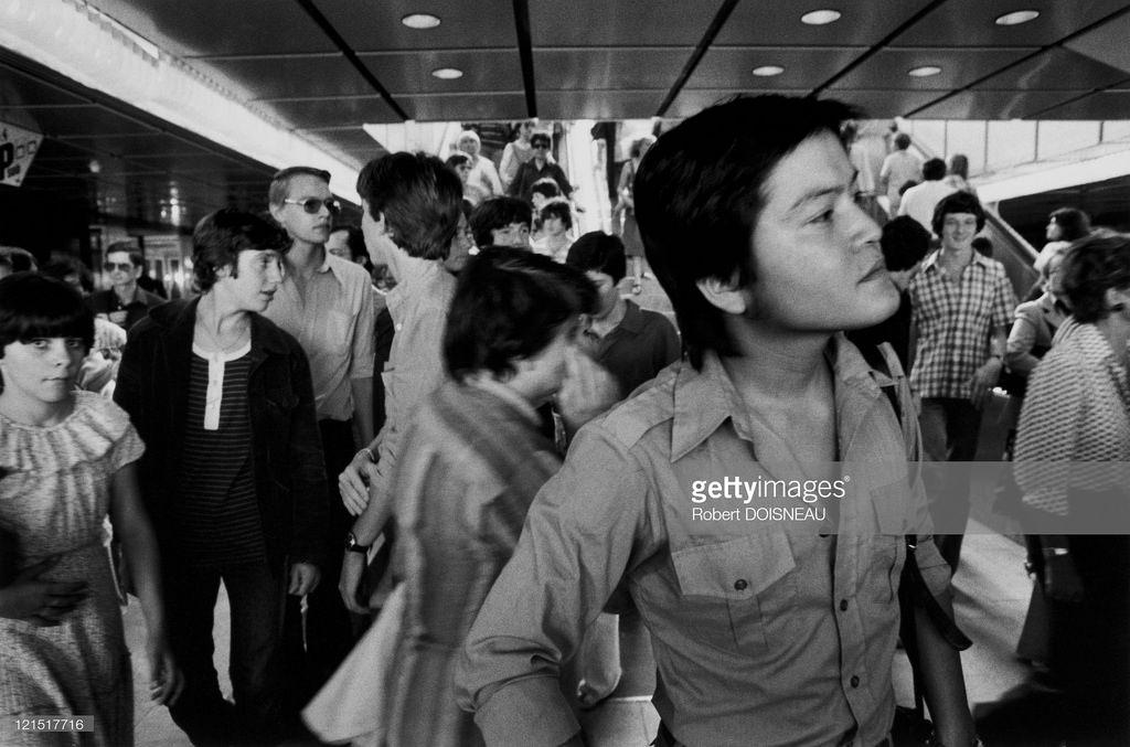 1979. Открытие реконструированного рынка Ле-Аль