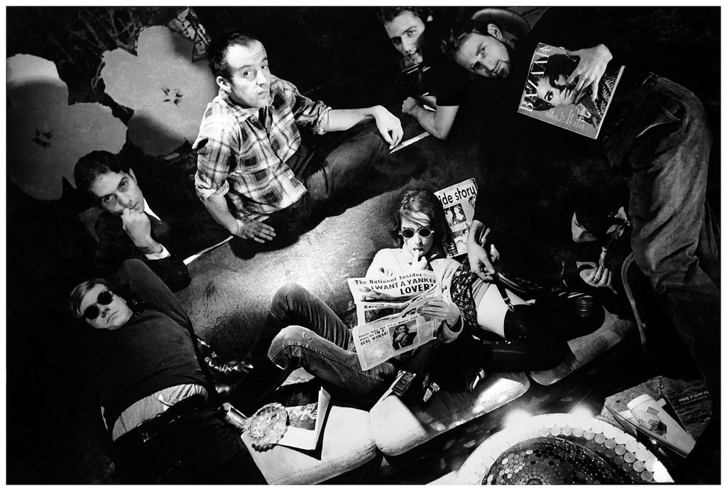 1963. Энди Уорхол, Грегори Маркопулос, Тейлор Мид, Жерар Маланга, Джек Смит