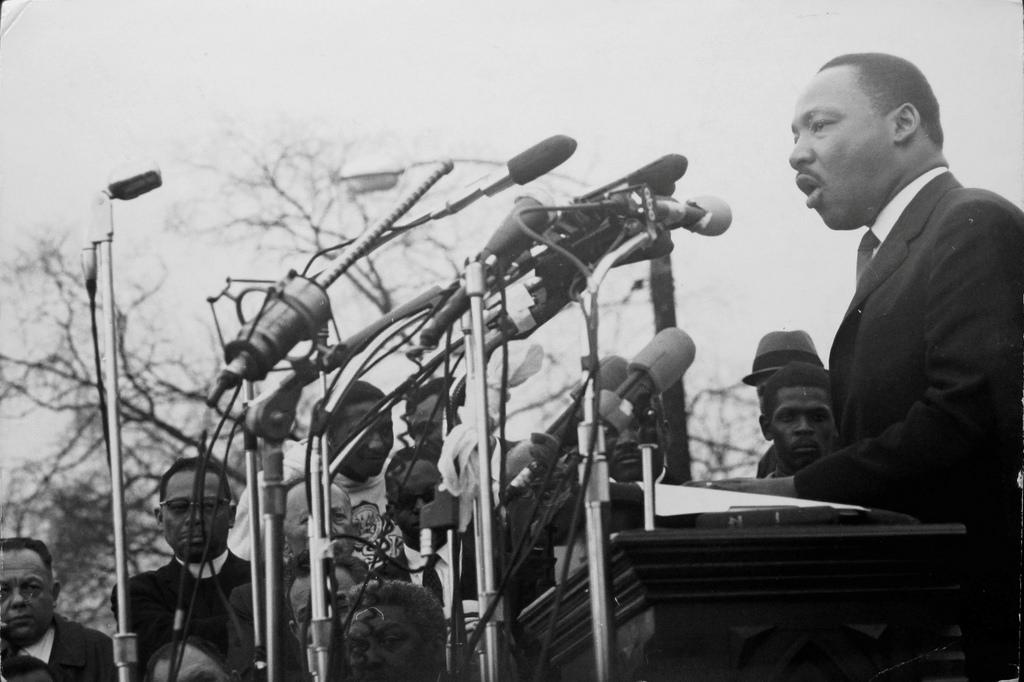 1965. Мартин Лютер Кинг