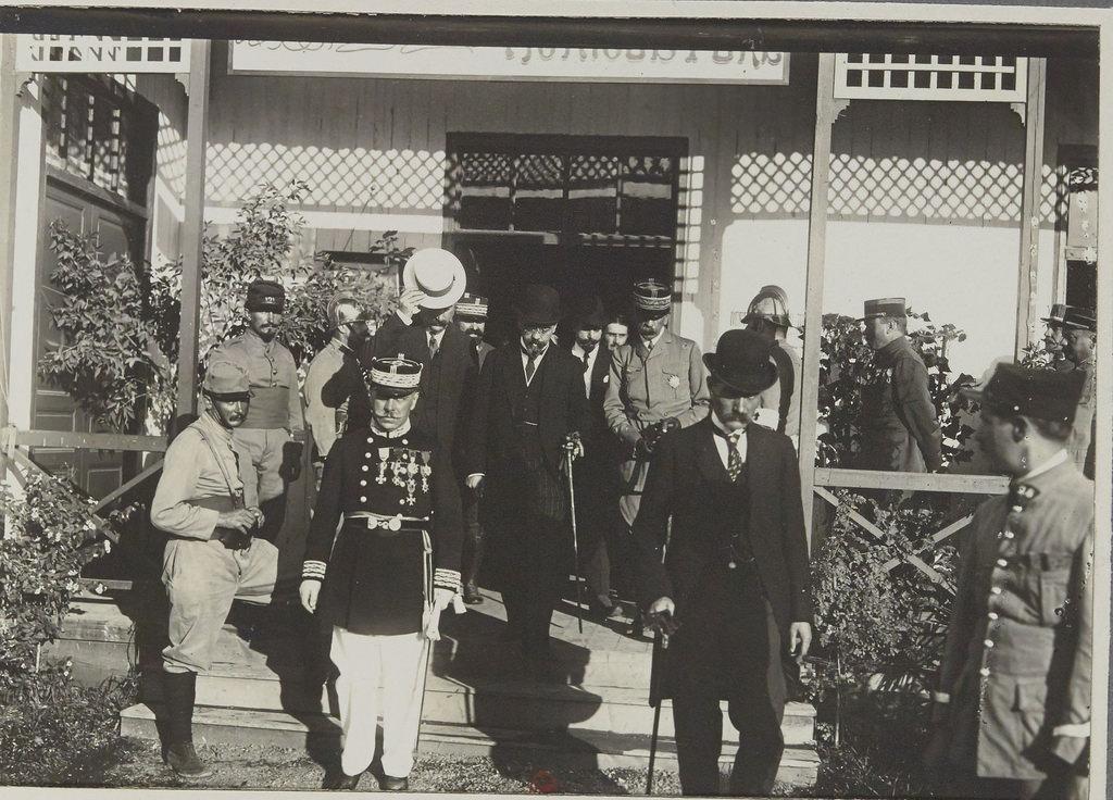 Визит М.М.Саррота и Абеля Ферри (помощник госсекретаря)