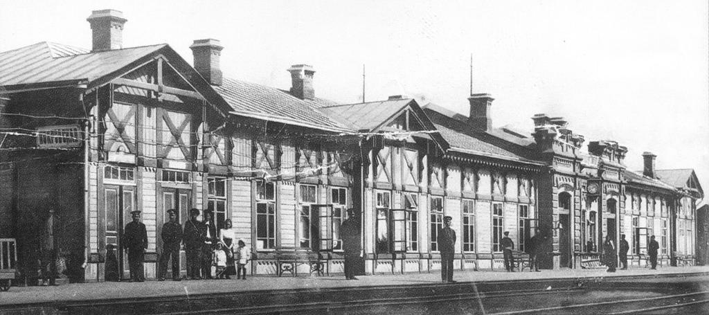 Вокзал станции «Покровская слобода»