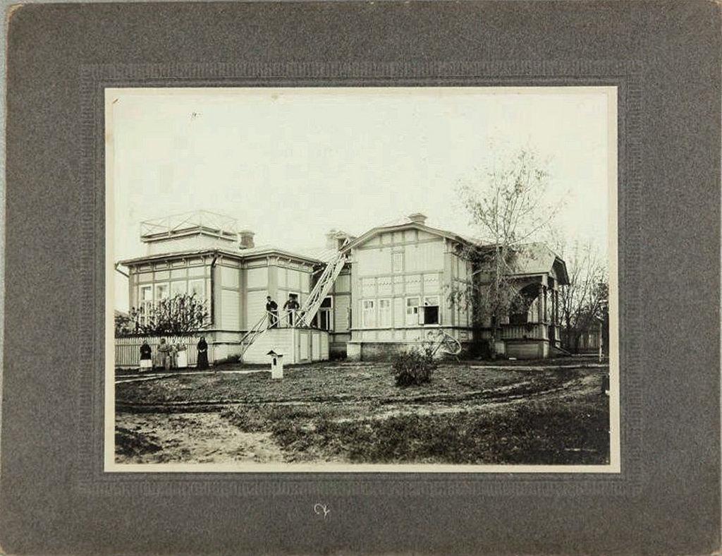 Здание хирургического барака Покровской земской лечебницы