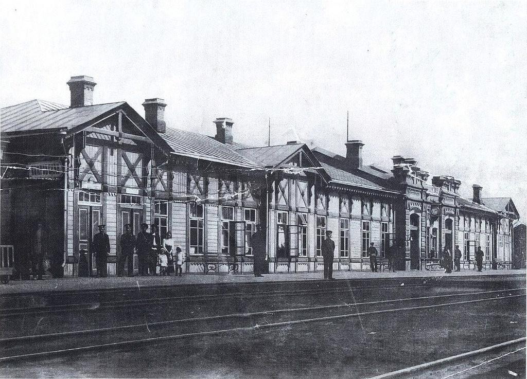 Покровская слобода. железнодорожный вокзал