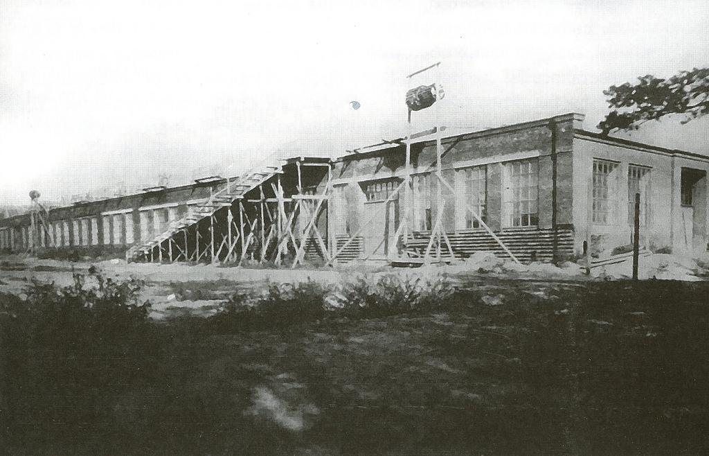 05. Строительство главного корпуса завода АМО