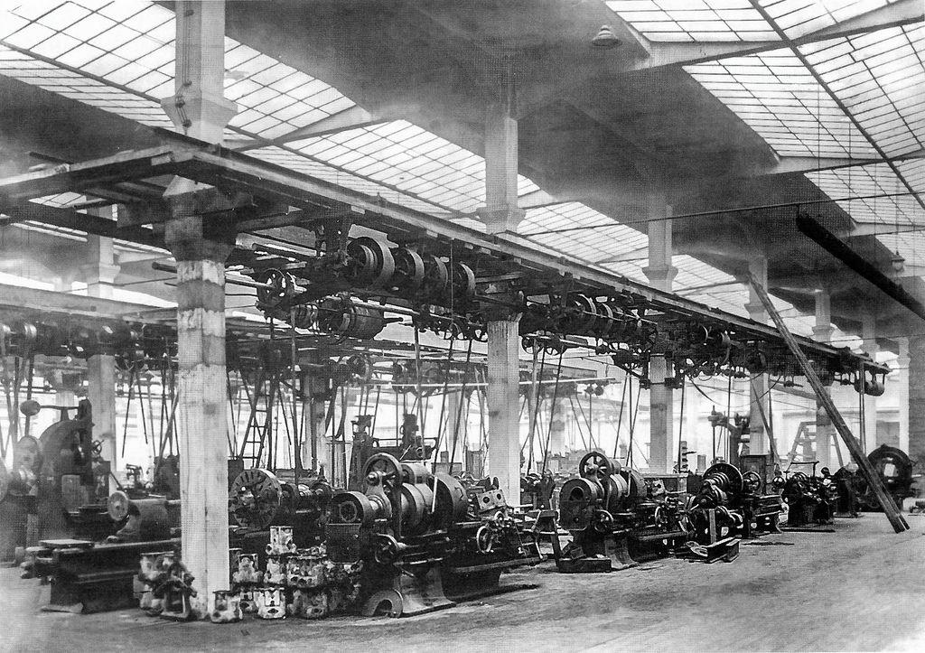 10. Механосборочный корпус с установленными станками