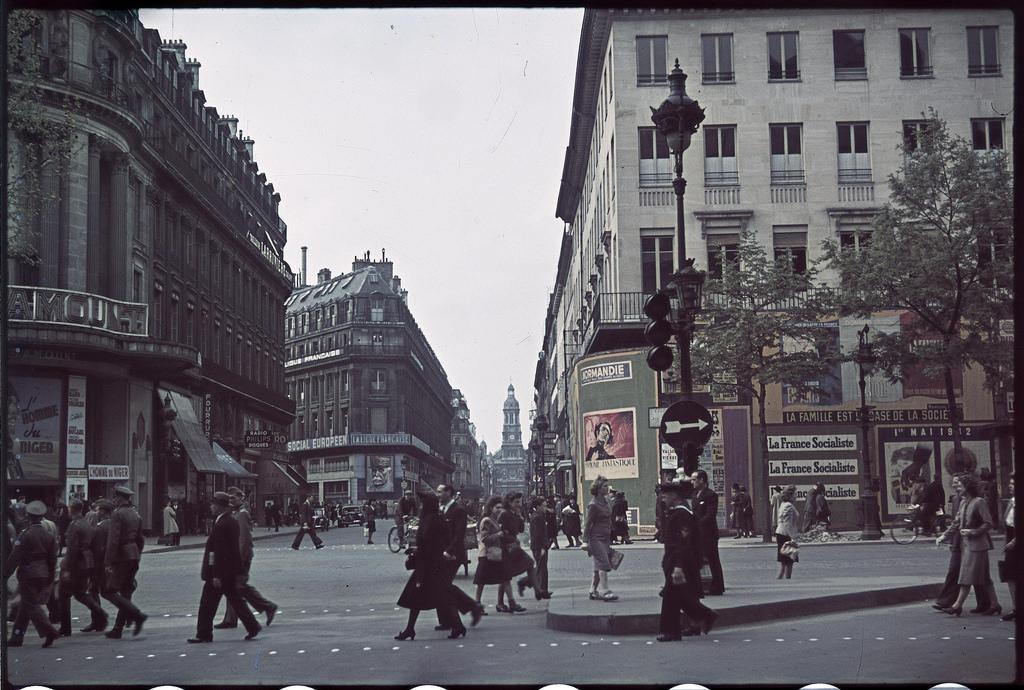 Улица Шоссе д'Антенн (2)
