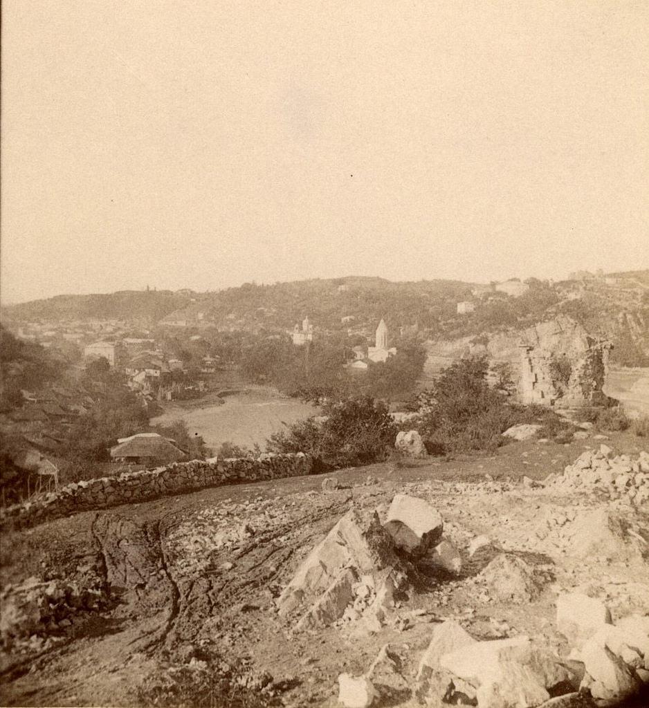 Вид с еврейской части города