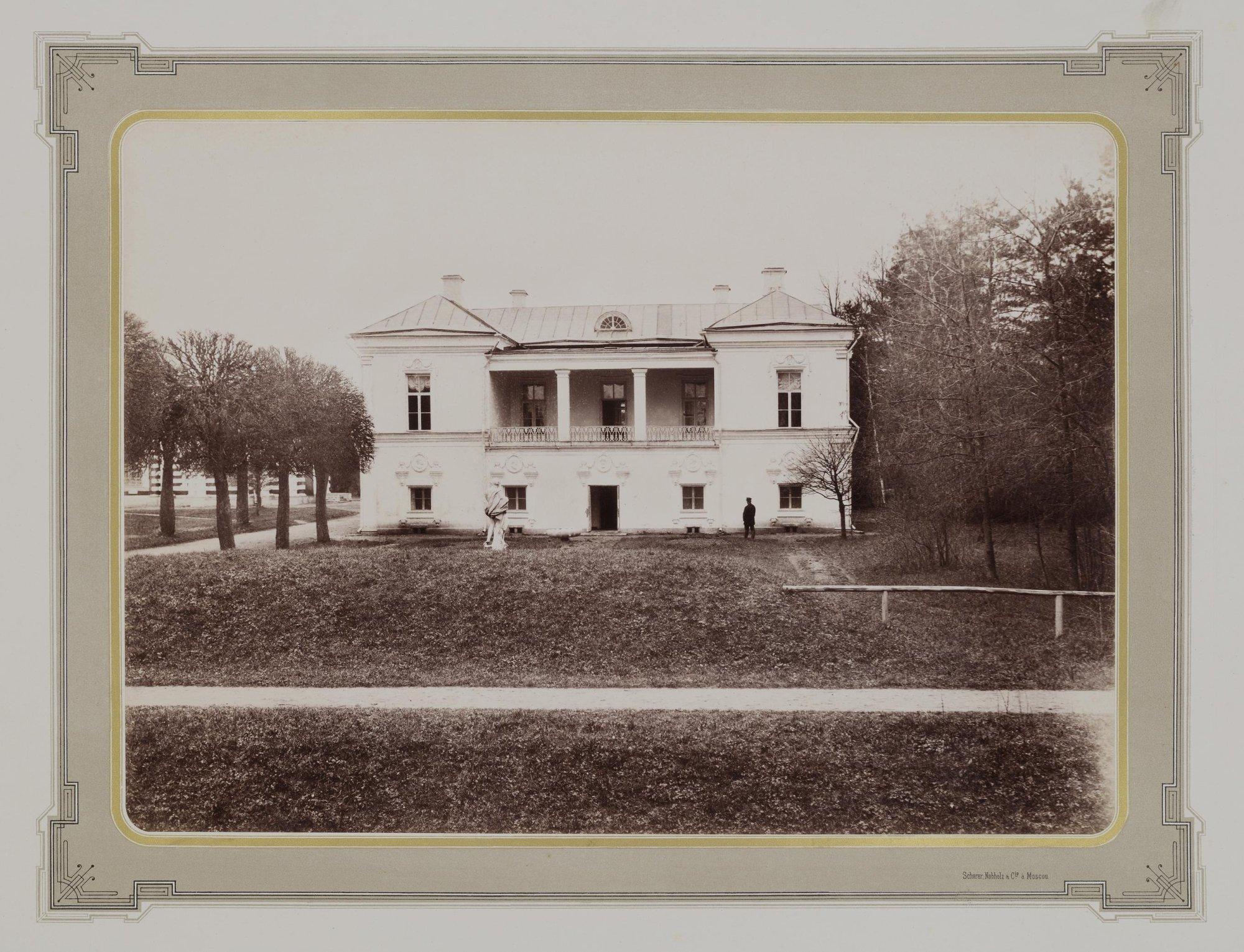 1883-1886. Усадьба Кусково. Итальянский павильон