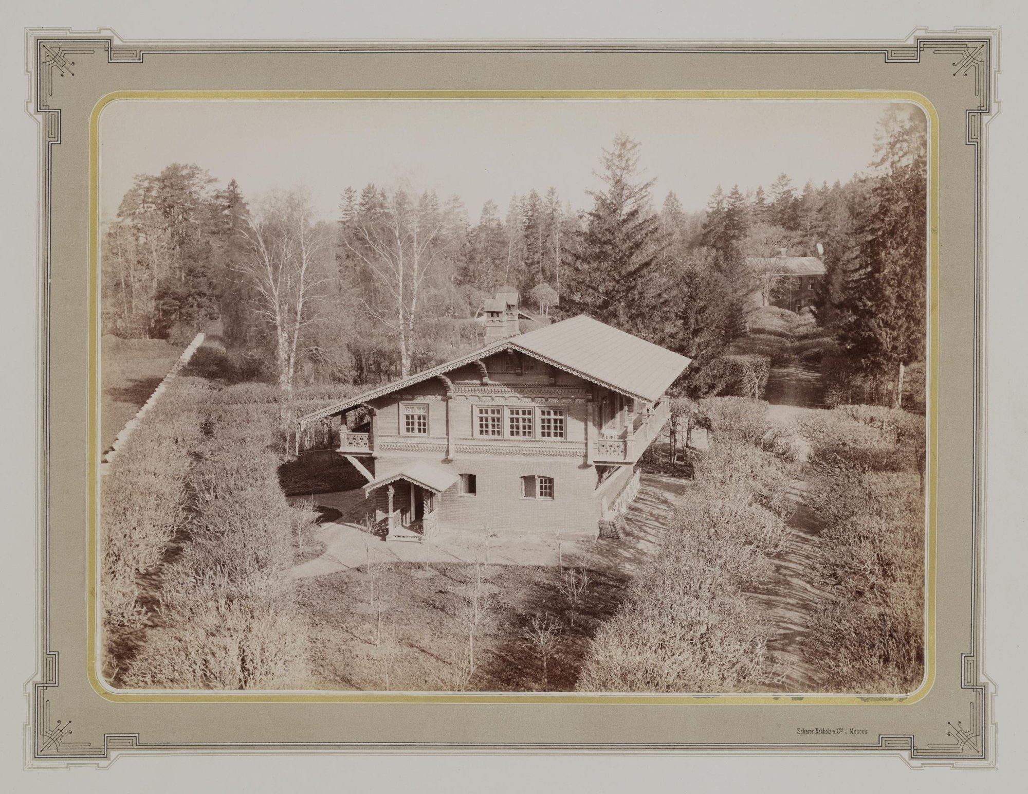 1883-1886. Усадьба Кусково. Швейцарский домик