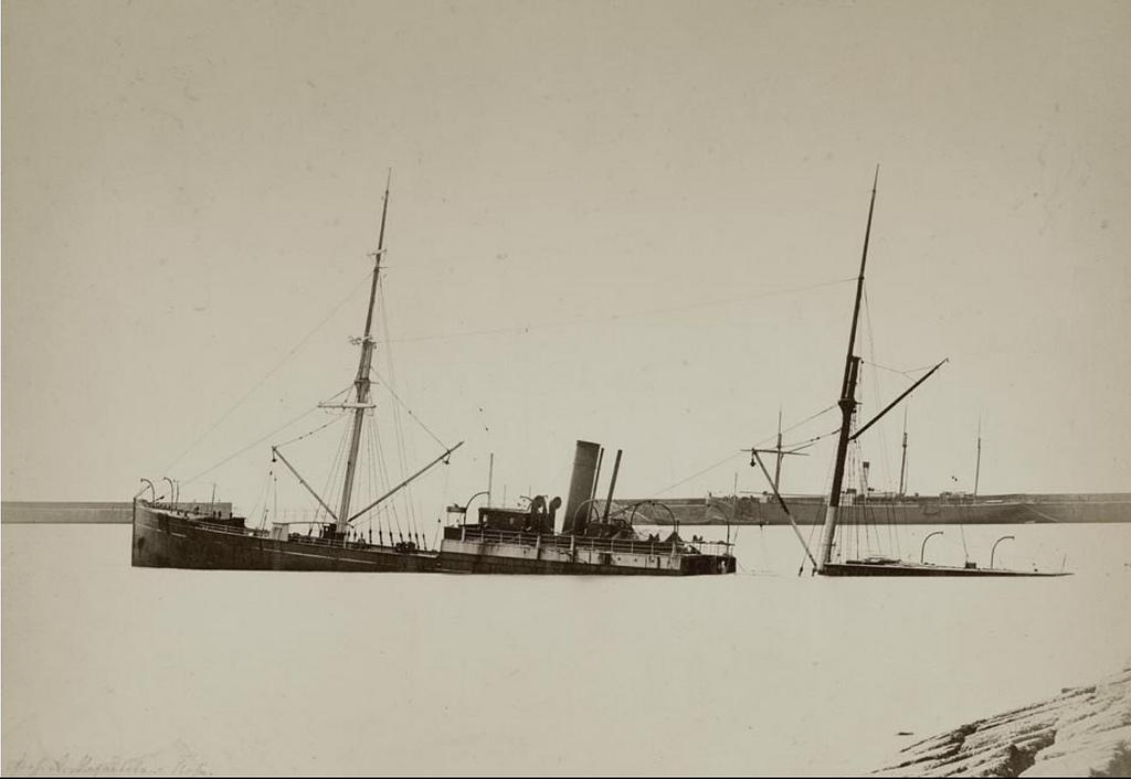 Гавань, С.С.«Карро».  23 февраля 1887 г