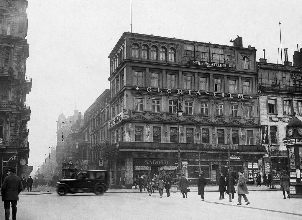 1922. Кафе «Кранцлер».