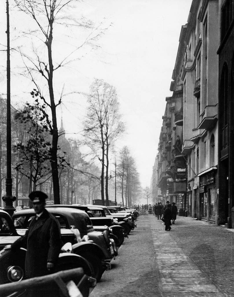 1937. Парковка на Ранкштрассе