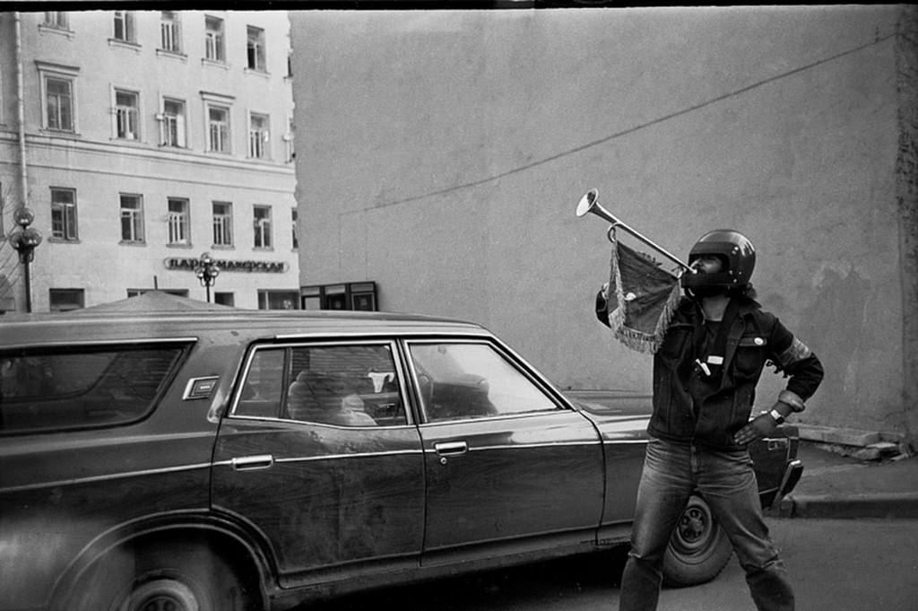 1986. Улица Арбат, 12. Труба зовет