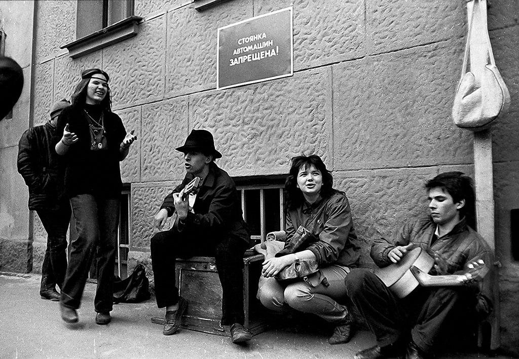 1988. Кривоарбатский переулок, 1