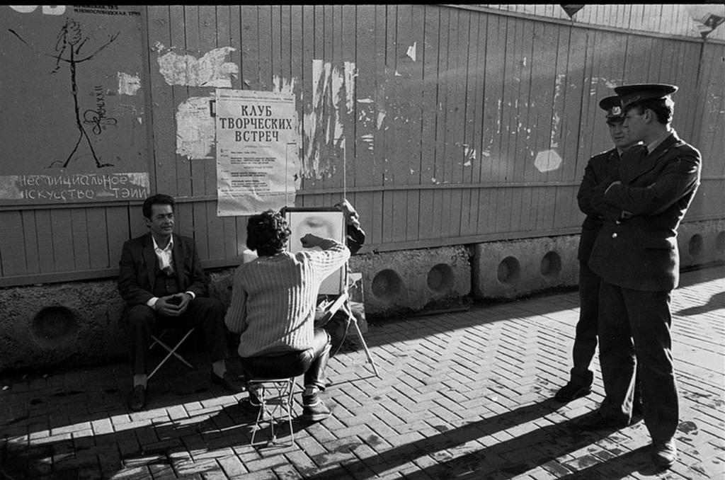 1988. Улица Арбат, 5-7. Фоторобот live