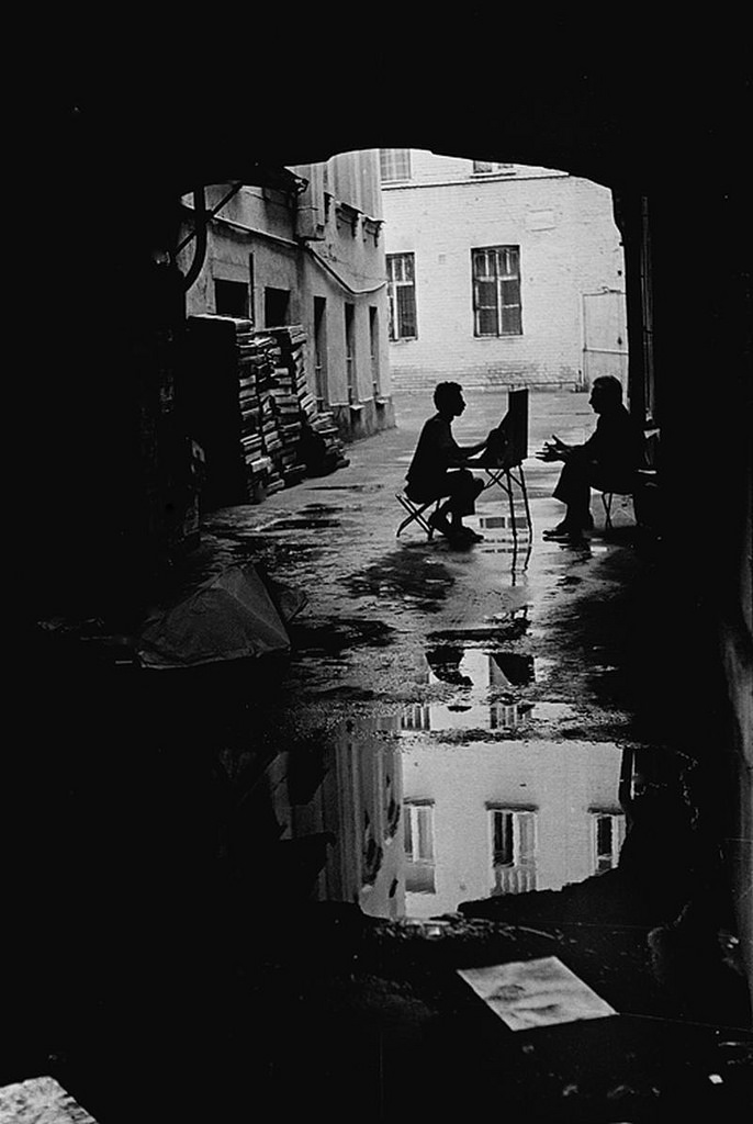 1988. Улица Арбат, 9.