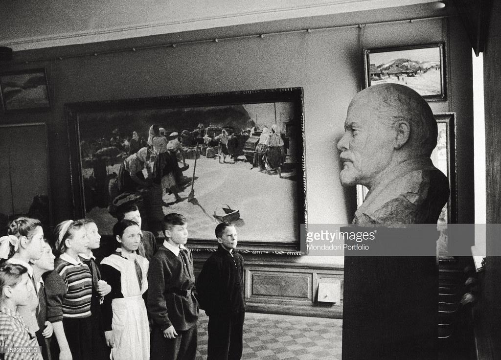В музее В.И.Ленина