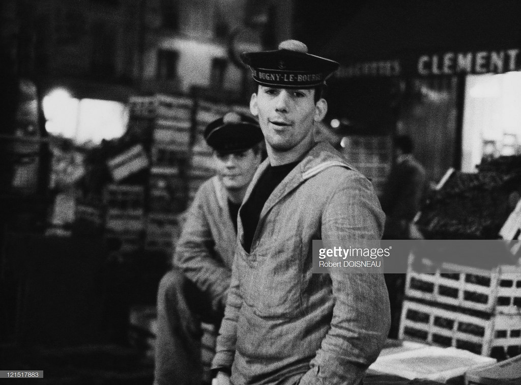 1960. Ле-Аль. Морячок на рынке