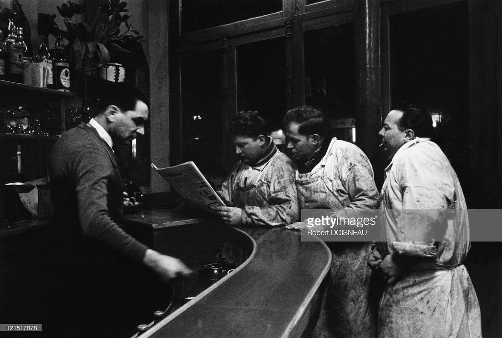 1960. Ле-Аль. Мясники в баре