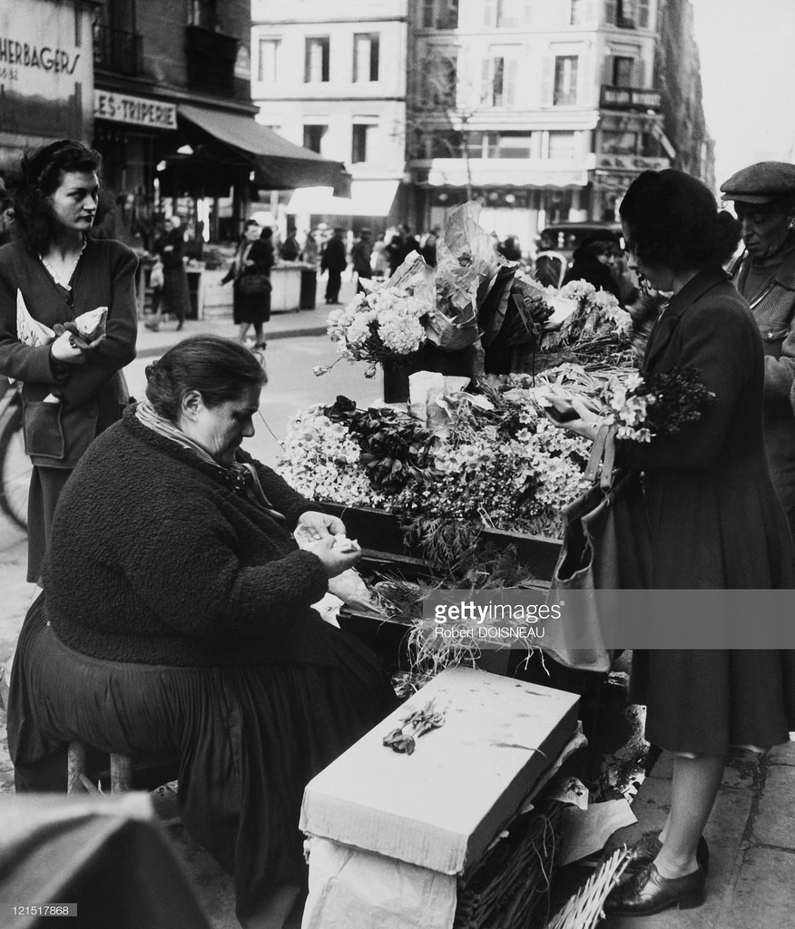 1960. Ле-Аль. Толстая цветочница
