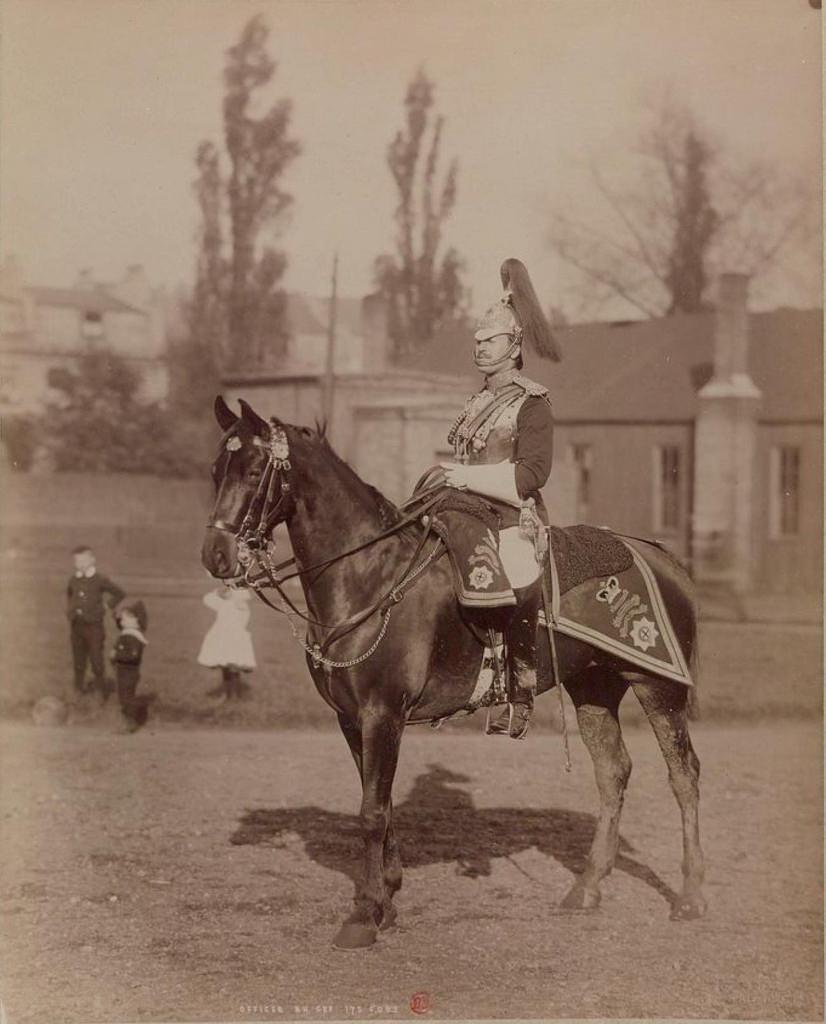 02. Офицер Королевской конной гвардии