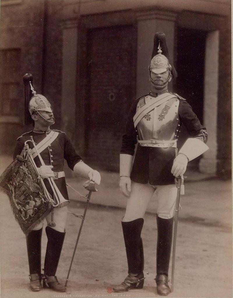 04. Кавалерист и горнист Королевской конной гвардии