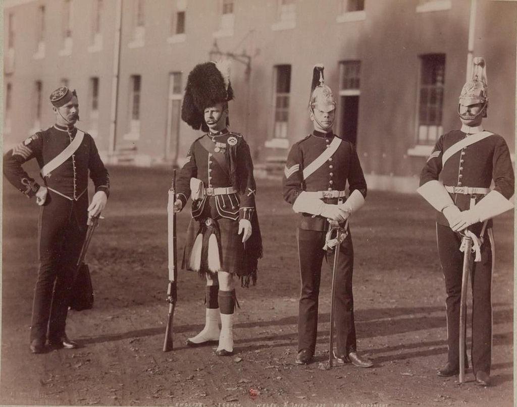 05. Гусар, хайлендер, 5-й и 6-й гвардейские драгунские (карабинерские) полки