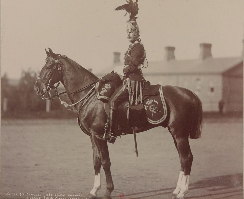 11. Офицер 9-го Её Величества Королевского Уланского полка