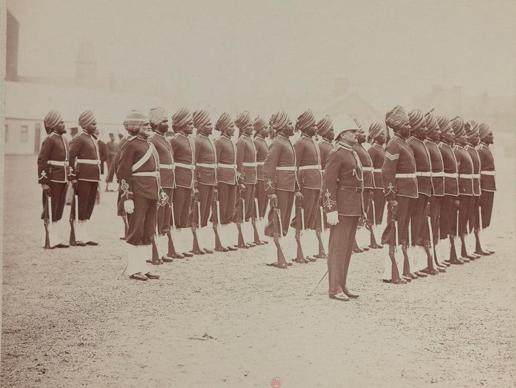 20. Сикхское подразделение Малайской гвардии